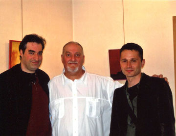 avec le compositeur jean philippe bec et le photographe jean luc douat - 2006