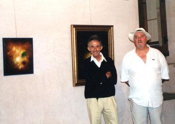 avec le photographe roger tarin - 2001