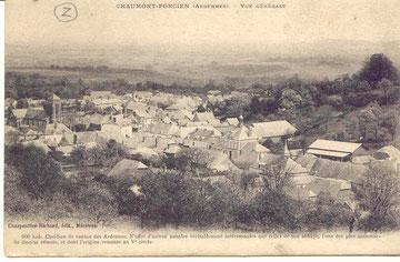 vue générale du village vers 1920
