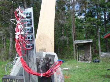 diode sur éolienne