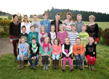 3. Klasse Volksschule Grünbach bei Freistadt