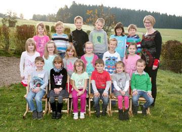 1. Klasse Volksschule Grünbach bei Freistadt