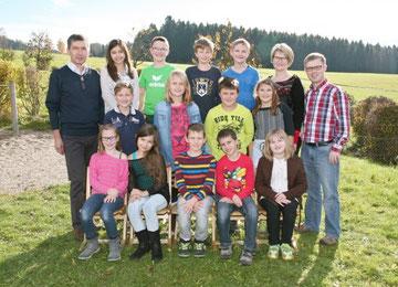4b. Klasse Volksschule Grünbach bei Freistadt