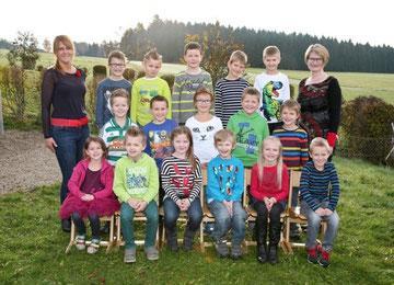 2. Klasse Volksschule Grünbach bei Freistadt