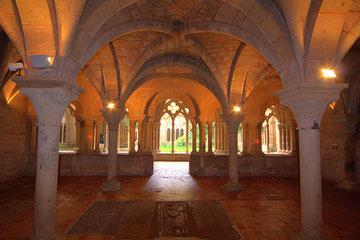 Sala capitular del Monasterio de Veruela, Moncayo, Zaragoza