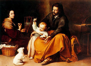 Sagrada Familia.Murillo 1650.Museo del Prado