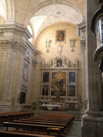 Vista general del Convento de las Agustinas Recoletas de Salamanca y pintura de Ribera.