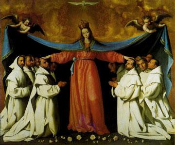 Virgen de los Cartujos. Zurbarán