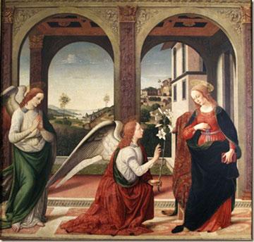 Anunciación.Biagio d'Antonio 1446-1516