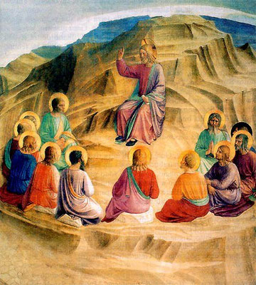 Sermón de la Montaña. Fra Angélico