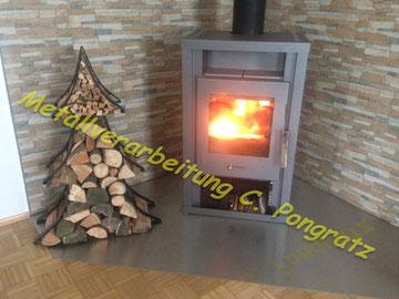 Weihnachten - Der etwas andere Holzkorb