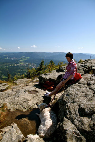 immer mit auf dem Berg... everytime with us on the mountains