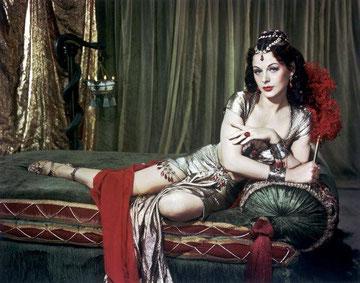 Hedy Lamarr, inventora y actriz.Click en la imagen para acceder a más info.