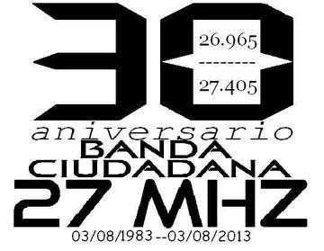 30 aniversario de la legalización de la Banda Ciudadana en España
