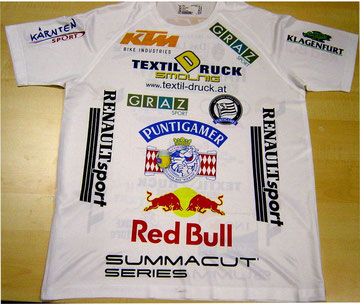 Sublimations Shirts mit Logo