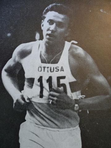 1960 Rome: Olympic Champion Ferenc Nemeth (HUN)
