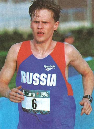 1996 Atlanta: Silver medallist Eduard Zenovka (RUS)
