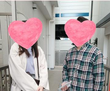 福島の婚活パーティーカップル