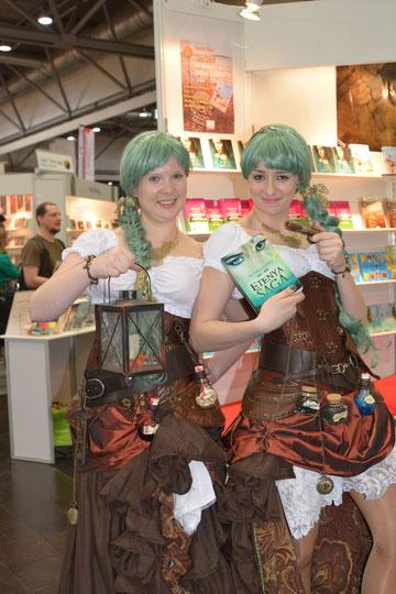 Katharina und Alina auf der LBM 2014