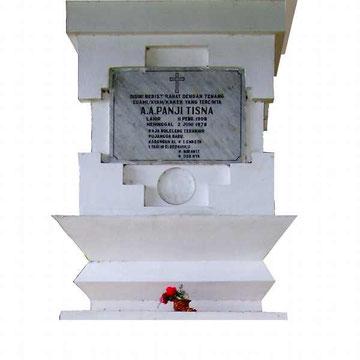 Grabstein des letzten Königs
