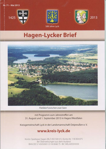 Hagen - Lycker Brief 2013