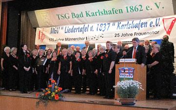 Jubiläum 2012  175 J. Männerchor, 25 J. Frauenchor