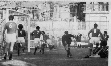 82': Bini realizza il gol del pareggio
