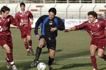 Francesconi ingabbiato dai difensori del Saluzzo