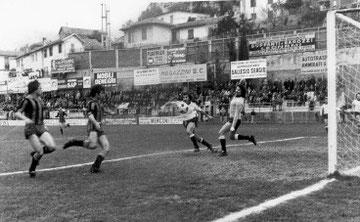 78': Guidetti realizza il gol vittoria...