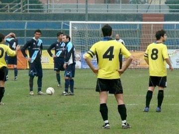 Calcio d'inizio del 2° tempo