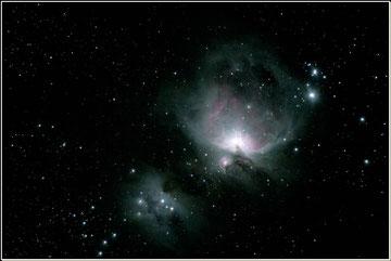 La nébuleuse M42 dans la constellation d'Orion