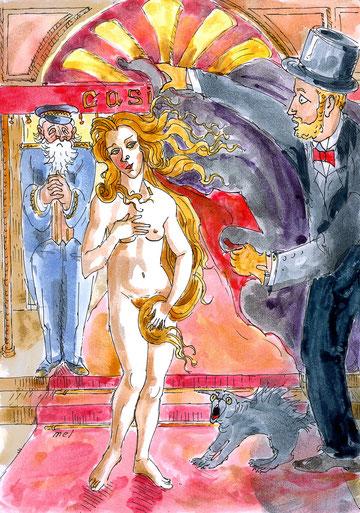 Genèse de l'Ouximer - La renaissance de Vénus