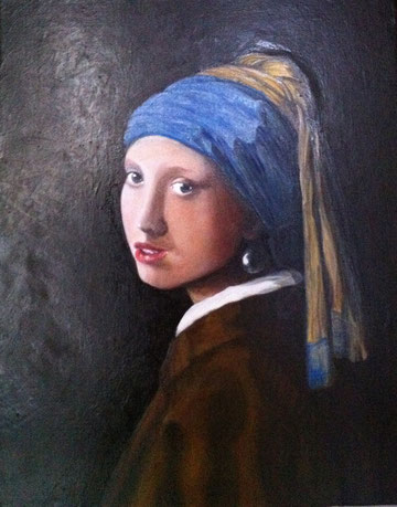 La jeune fille au turban dit la jeune fille à la perle