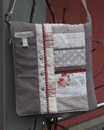 Tasche Laura grau - verkauft