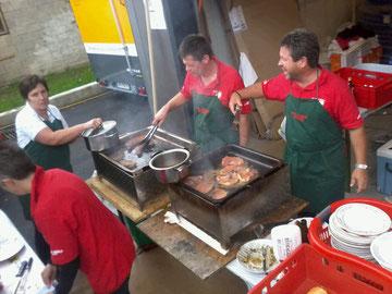 Der FF-Wagedorf Grillstand