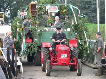 Der Wagen des Schützenvereins Iseler und Umg.