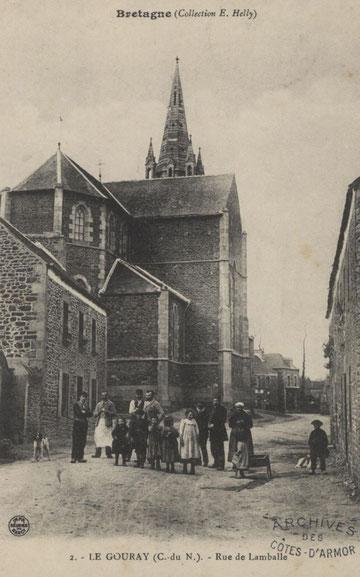 Le Gouray au début du XXème siècle.