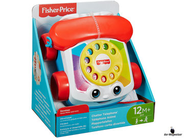 Empfehlung Fisher-Price Plappertelefon