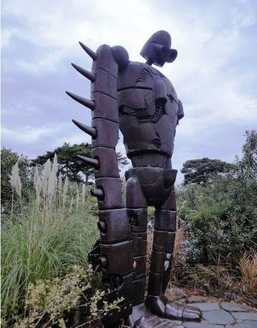 ジブリ美術館のロボット