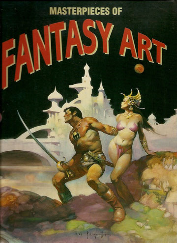 Grand format sur des illustrateurs de Fantasy.