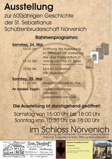 Ausstellung Schloss Nörvenich