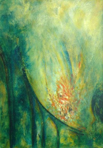 Acryl auf Malkarton, 70 x 100 cm