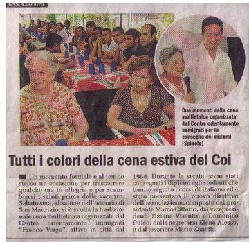 Cittadino di Monza 30.06.2010