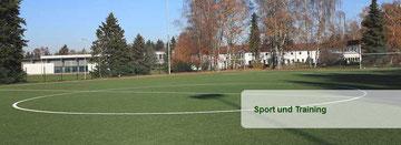 Der neue Kunstrasenplatz in der Sportschule Grünberg ist Austragungsort für das Sichtungsturnier des Jahrganges 1.1.98 am 20. März 2013