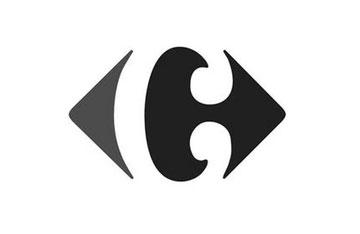 Carrefour logotipo El diseño original examinada por Miles Newlyn