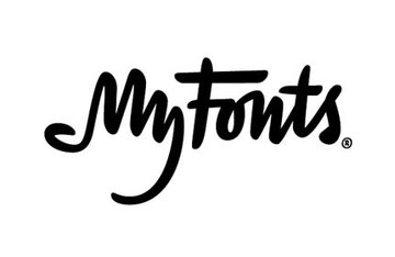 MyFonts logotipo Por Underware