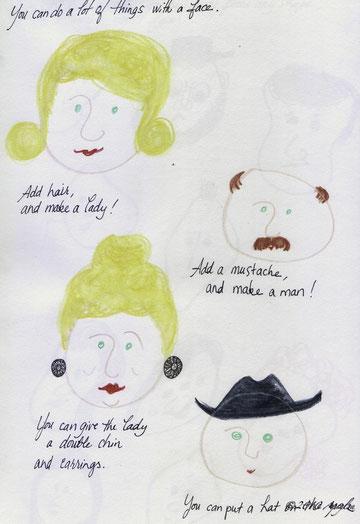 and I drew…
