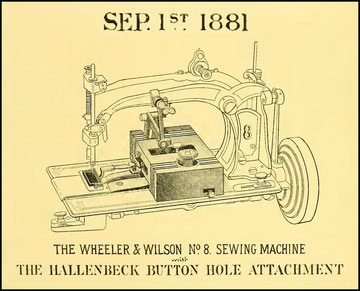 The Sewing Machine Gazette  1881