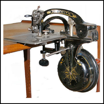 Beckwith # 18.932 - 1875 c.  Maggie's Old Sewing Machine