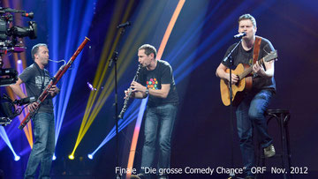 "Finale ""Die grosse Comedy Chance"" ORF Nov. 2012"